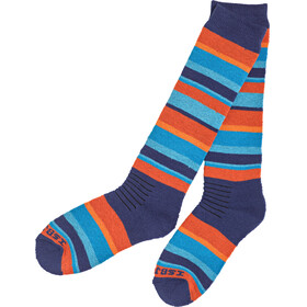 """Isbjörn Snowfox Merino Blend Ski Socks Sunset"""